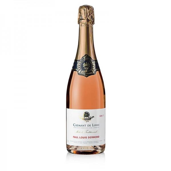 Paul Louis Dermond - Paul Louis Dermond Cremant de Loire brut rosé Sekt Loire 12.5% vol.