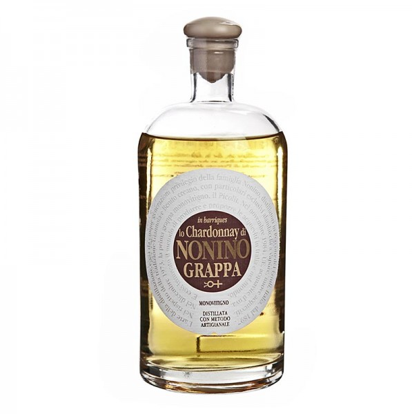 Nonino - Grappa Monovitigno Lo Chardonnay Barriques Rebsortengrappa 41% vol. Nonino