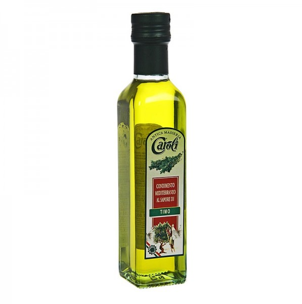 Caroli - Natives Olivenöl Extra Caroli mit Thymian aromatisiert