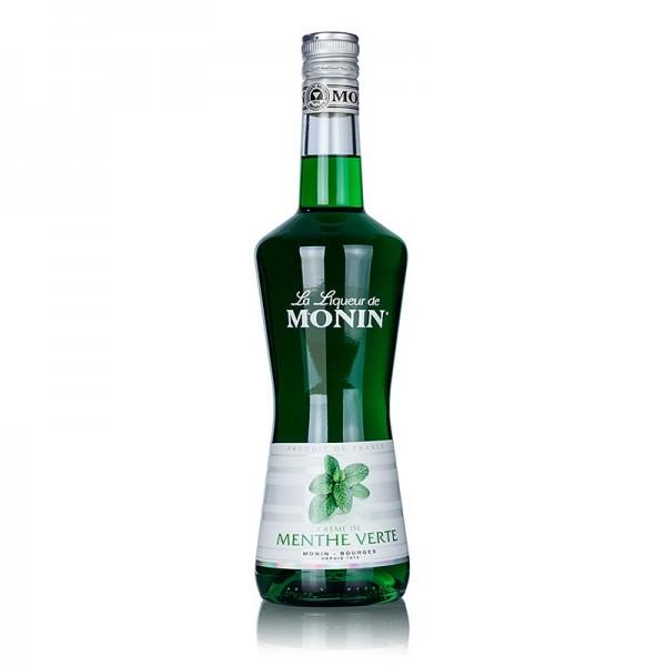 Monin - Crème de Menthe Verte grüner Pfefferminz Creme-Likör Monin 20% vol.