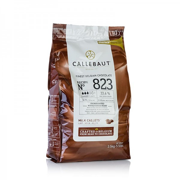 Callebaut - Vollmilch Callets 33% Kakao