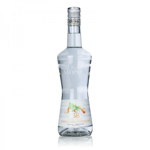 Monin - Liqueur de Triple Sec Curacao Monin 38% vol.