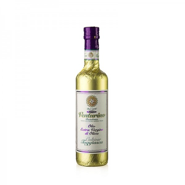 Venturino - Venturino Olivenöl Extra Vergine 100% Taggiasca Oliven Goldfolie