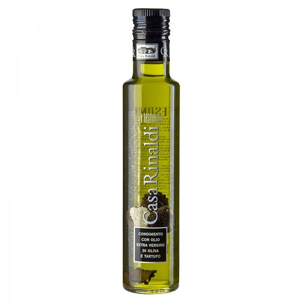 Casa Rinaldi - Casa Rinaldi - Olivenöl Extra Vergine mit weißer Trüffel-Aroma & Sommertrüffel