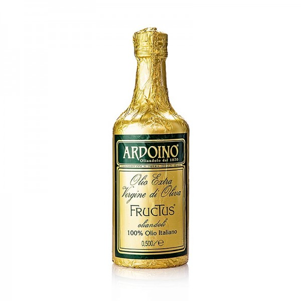 Ardoino - Ardoino Fructus Olivenöl Extra Vergine ungefiltert in Goldfolie