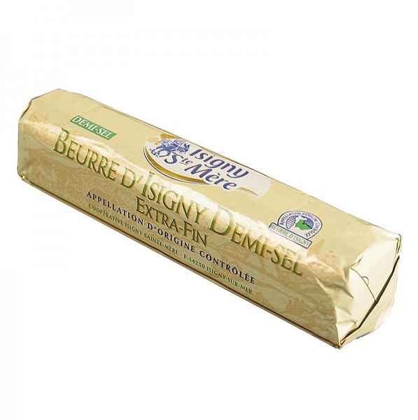 Beurre d´Isigny - Butter gesalzen Frankreich - Beurre d´ Isigny Demi Sel