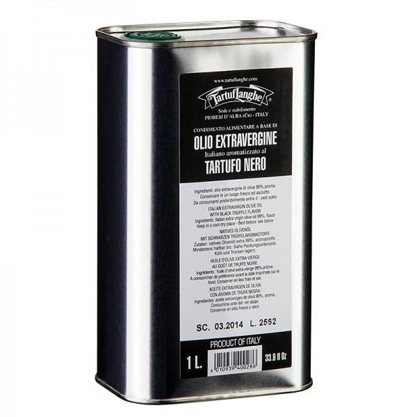 Tartuflanghe - Natives Olivenöl Extra mit schwarzem Trüffel-Aroma (Trüffelöl) Tartuflanghe