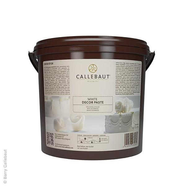 Callebaut - Weiße Überzug- und Dekorpaste süß mit Vanillegeschmack