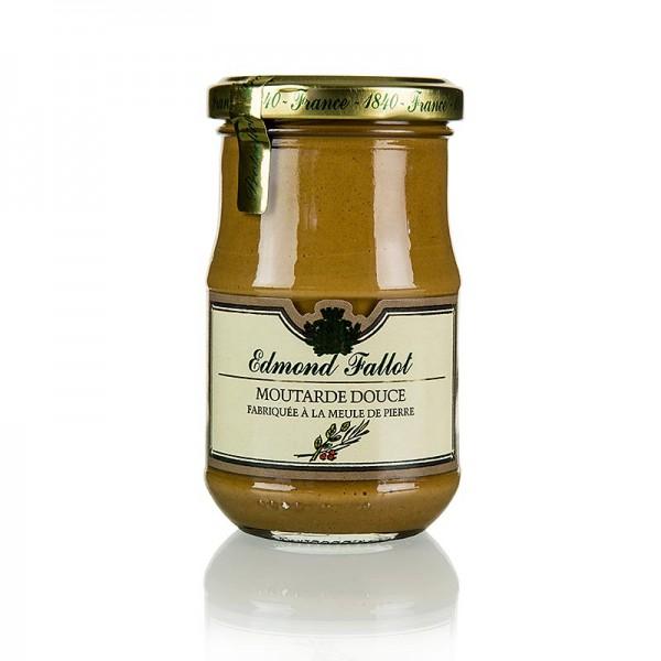 Fallot - Dijon Senf mit Gewürzen braun und mild Fallot