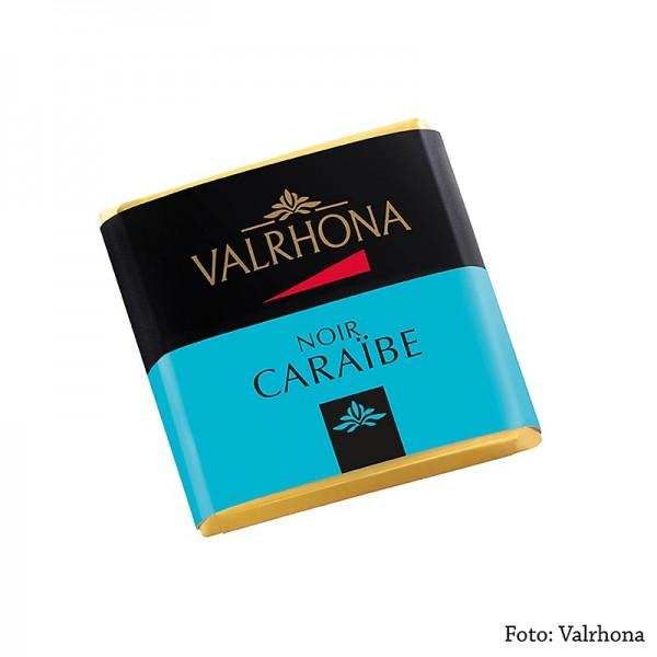 Valrhona - Carré Caraibe - Bitterschokoladentäfelchen 66% Kakao