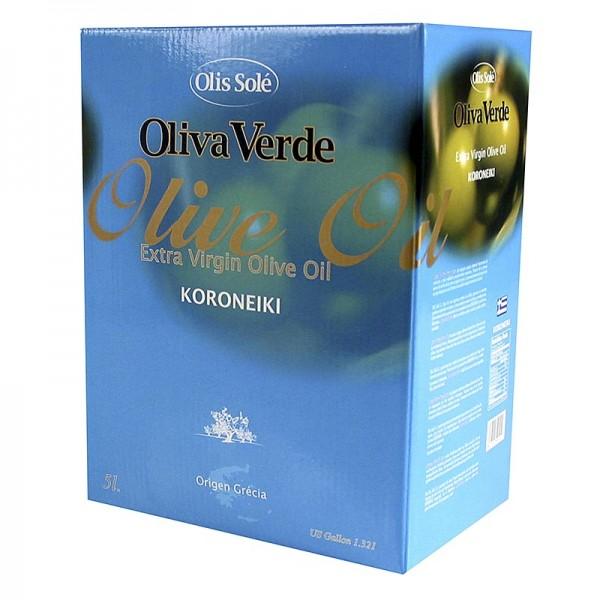 Olis Sole - Natives Olivenöl Extra Oliva Verde aus Koroneiki Oliven Peloponnes