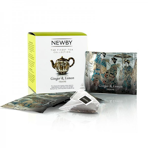 Newby Tea - Newby Tea Ginger & Lemon Infusion Kräutertee