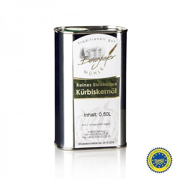 Berghofer-Mühle - Kürbiskernöl aus der Steiermark 100% rein Berghofer-Mühle