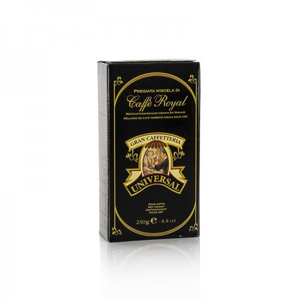 Caffe Royal - Espresso - Universal Royal 100% Arabica gemahlen