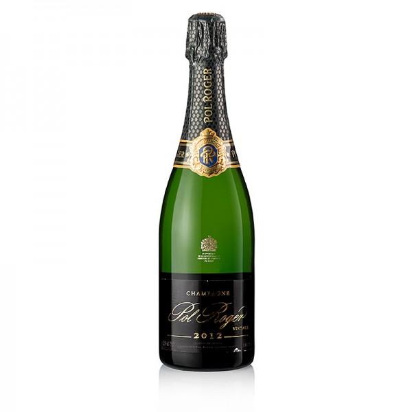 Pol Roger - Champagner Pol Roger 2012er Vintage brut 12.5% vol.