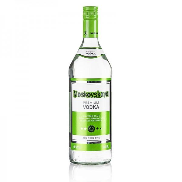 Moskovskaya - Moskovskaya Vodka 40% vol. Russland