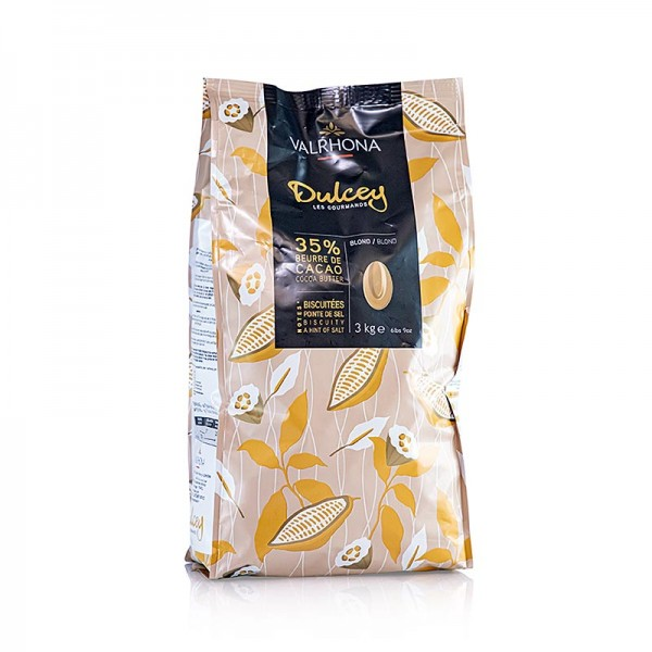 Valrhona - Dulcey blonde Couverture Callets 32% Kakao