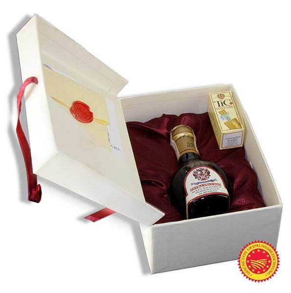 Malpighi - Aceto Balsamico Tradizionale DOP Ciliegio 50 Jahre Geschenkbox Malpighi