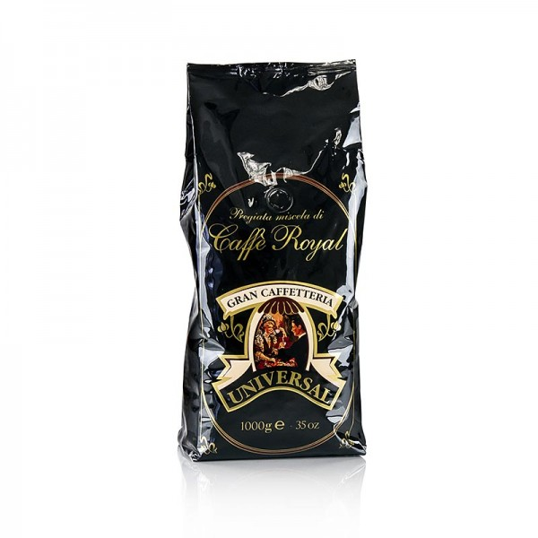 Caffe Royal - Espresso - Universal Royal 100% Arabica ganze Bohnen