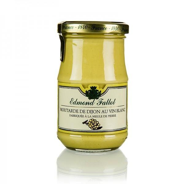 Fallot - Dijon Senf mit Weißwein fein und mittelscharf Fallot