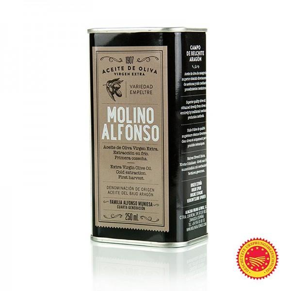 Molino Alfonso - Olivenöl Empreltre Extra Nativ DOP Bajo Aragon Spanien Molino Alfonso