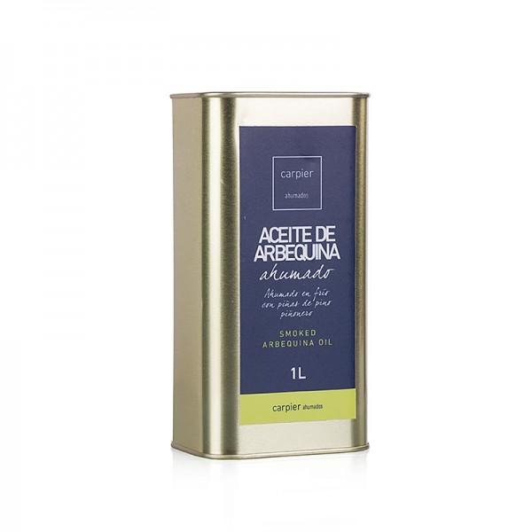 Carpier - Natives Olivenöl Extra Carpier geräuchtert Arbequina