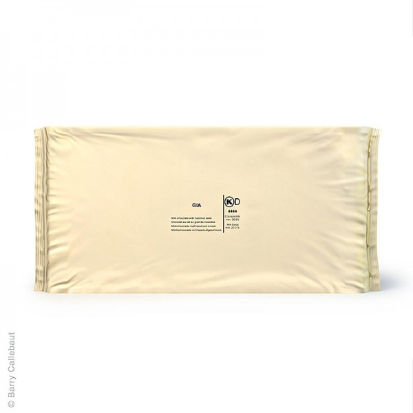 Callebaut - Gianduja - Haselnussmilchschokolade Block 26% Kakao