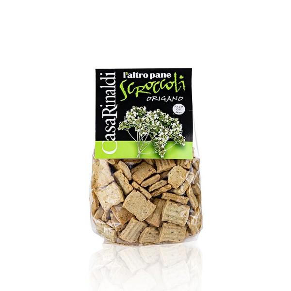 Deli-Vinos Snack Selection - Scroccoli al origano - Knabbergebäck mit Oregano