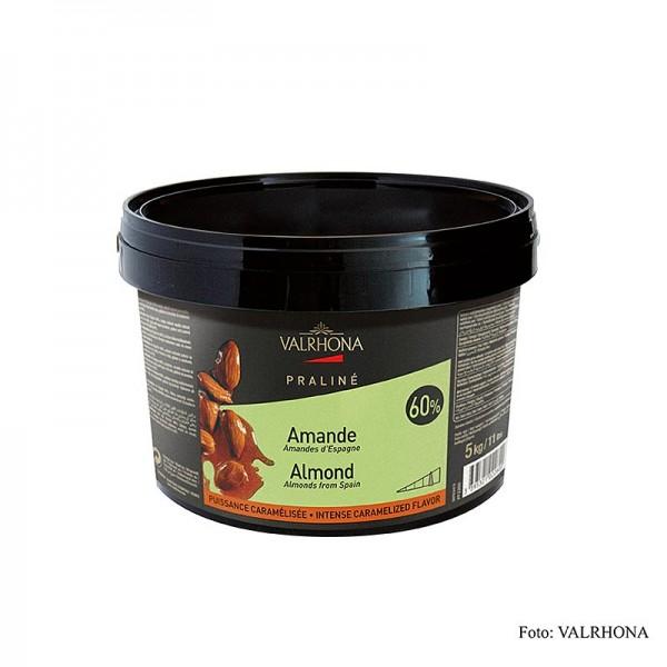 Les Pralines - Praliné Masse fein 60% Mandel intensive Nuss- und kräftige Karamellnoten