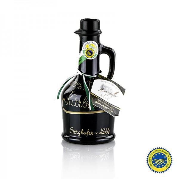 Berghofer-Mühle - Kürbiskernöl aus der Steiermark g.g.A. 100% rein Berghofer-Mühle