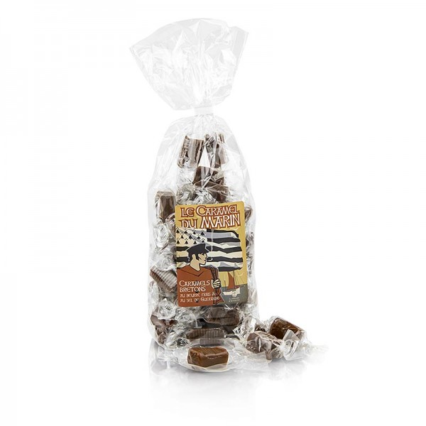 Caramels Bretons - Caramels Bretons - Karamell-Bonbons mit Butter und Meersalz