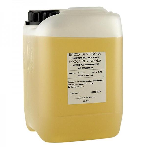 Rocca di Vignola - Balsamico Bianco Condiment 5.4% Säure Rocca di Vignola