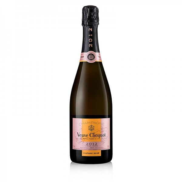 Veuve Clicot - Champagner Veuve Clicquot 2012er Vintage ROSÉ brut 12.0 % vol.