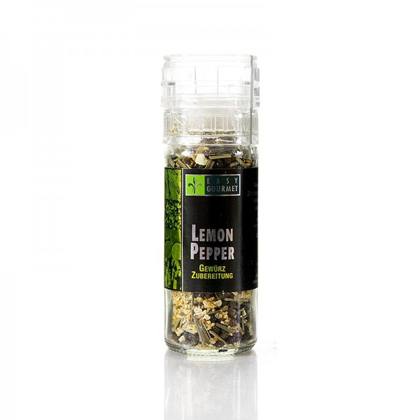 Easy Gourmet - Gourmet-Gewürzmühle Lemon Pepper Easy Gourmet