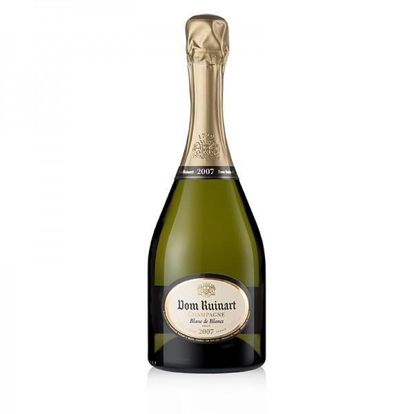 Dom Ruinart - Champagner Dom Ruinart 2007er Blanc de Blancs Prestige-Cuvée brut 12.5% vol.