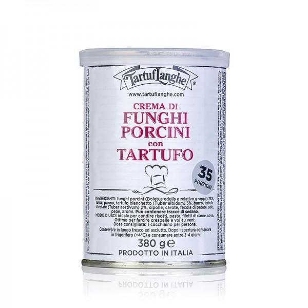 Tartuflanghe - TARTUFLANGHE Steinpilz-Paste mit Bianchetto- und Sommertrüffel