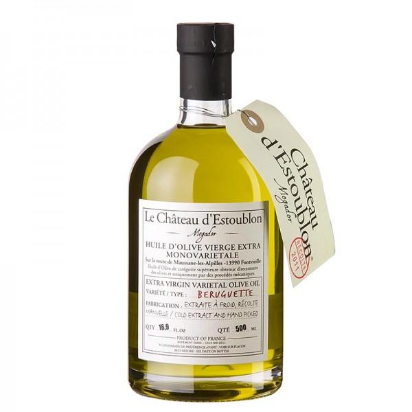 Chateau d´Estoublon - Natives Olivenöl Extra aus Beruguette Oliven Chateau d´Estoublon