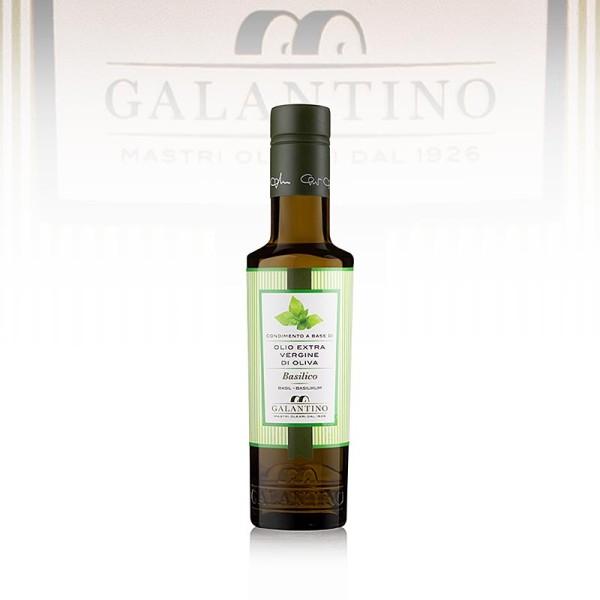 Galantino - Galantino - Olivenöl Extra Vergine mit Basilikum - Basilicolio