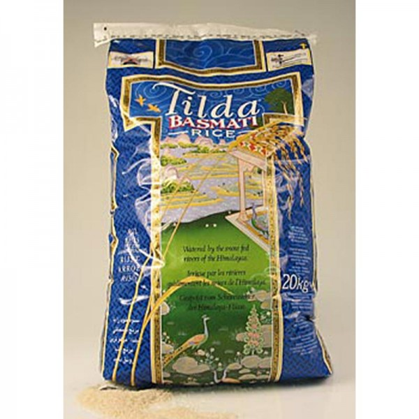 Tilda - Basmati Reis Tilda im praktischen Reißverschluß-Sack