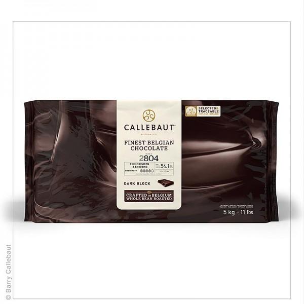 Callebaut - Zartbitterschokolade Block dünnfließend 54% Kakao