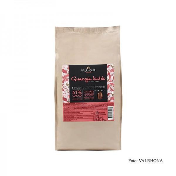 Valrhona - Guanaja Lactée Grand Cru Vollmilch Couverture Callets 41% Kakao