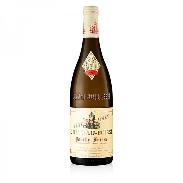 Chateau Fuissé - 2018er Pouilly Fuissé Tête de Cuvee Chardonnay 13.5% vol. Chateau Fuissé