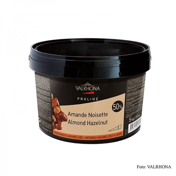 Les Pralines - Praliné Masse fein 25% Haselnuss 25% Mandel mit feinen Karamellnoten