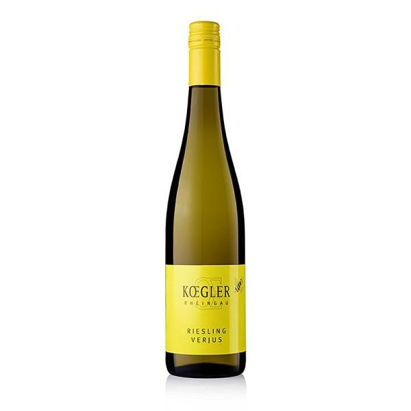 Weingut Kögler - Verjus aus dem Rheingau Weingut Kögler