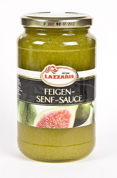 Lazzaris - Lazzaris -Feigen-Senf-Sauce nach Tessiner Art