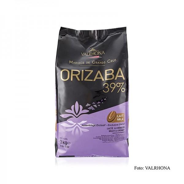 Valrhona - Orizaba Lactée Grand Cru Vollmich Couverture Callets 39% Kakao