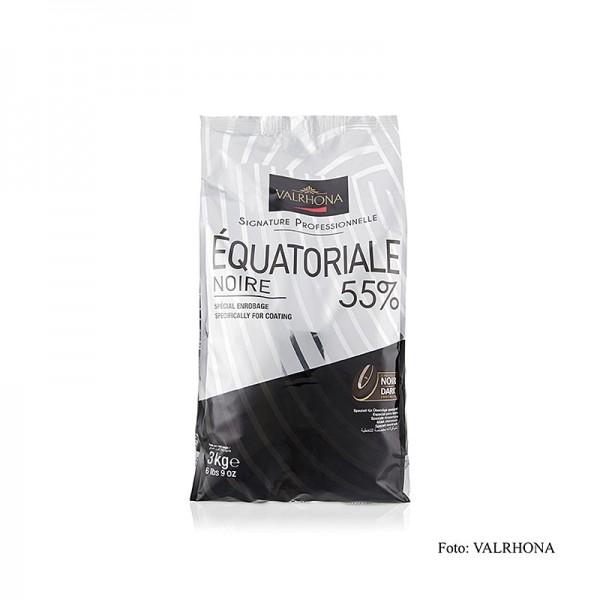 Valrhona - Equatoriale Noire dunkle Couverture Callets 55% Kakao