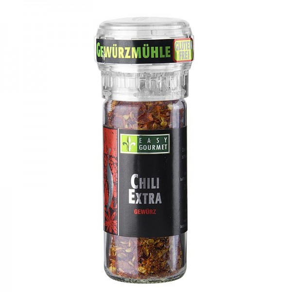 Easy Gourmet - Gourmet-Gewürzmühle Chili Extra scharf Easy Gourmet
