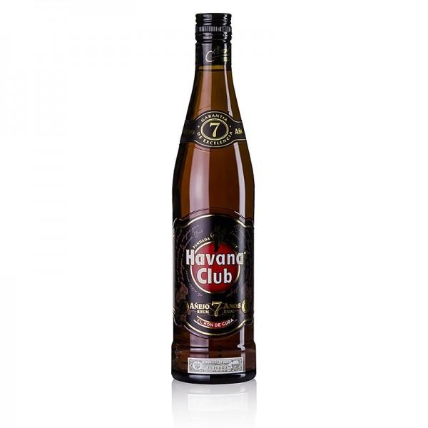 Havana Club - Havana Club Rum 7 Jahre braun Kuba 40% vol.