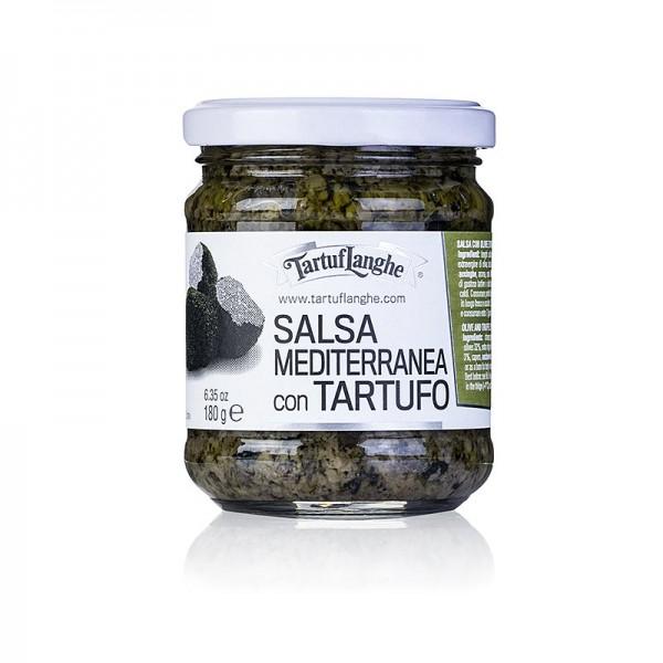 Tartuflanghe - TARTUFLANGHE Salsa Mediterranea Tapenade mit Sommertrüffel